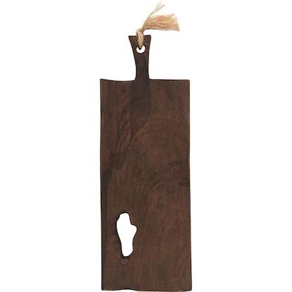 Mango Wood Tray/Cutting Board W/ Handle
