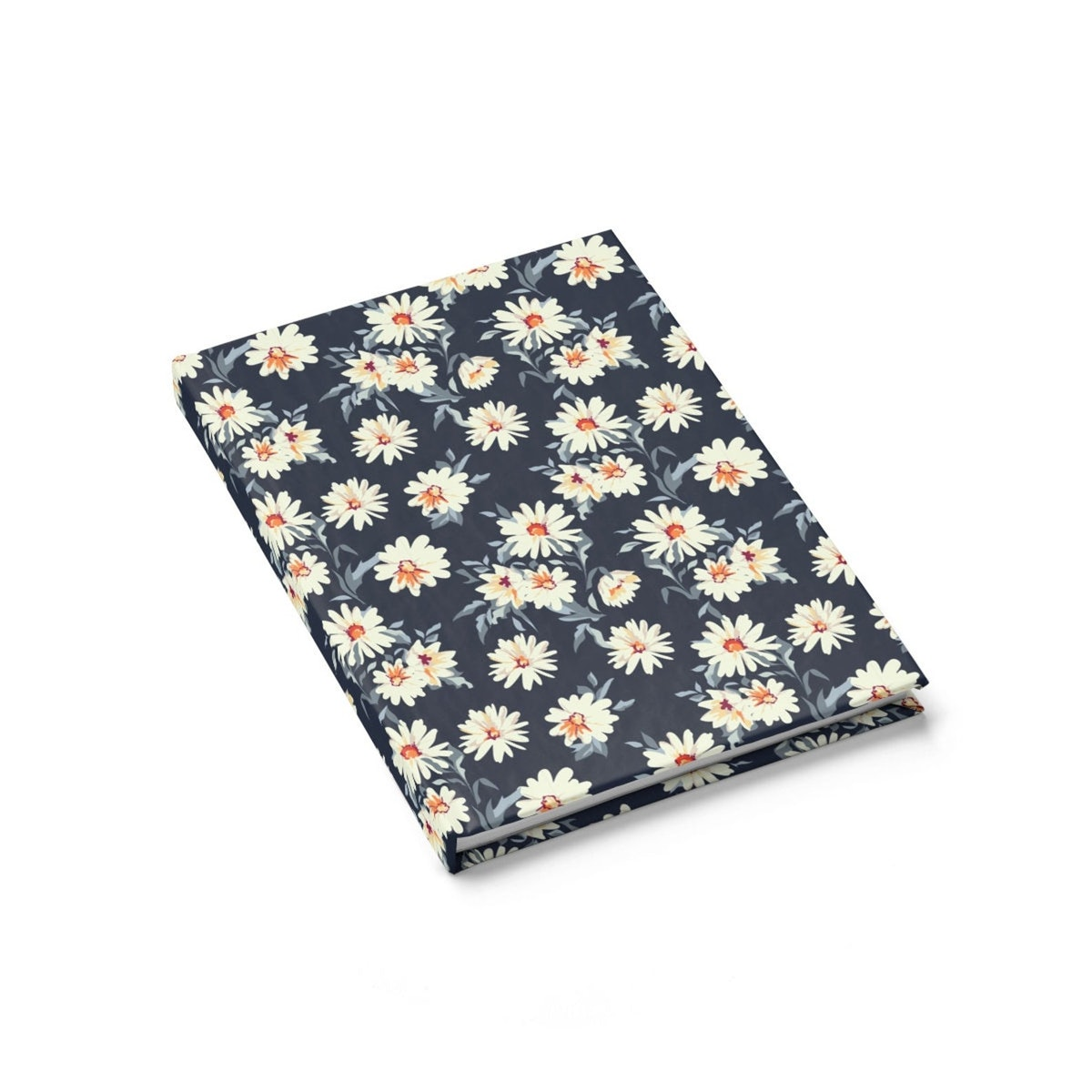Floral Daisies Flower Journal Notebook
