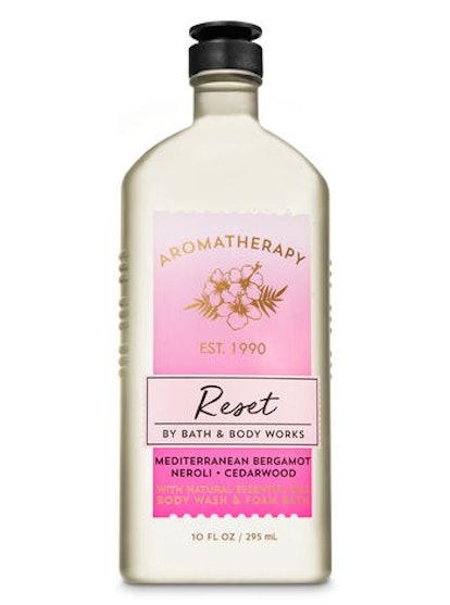 Aromatherapy Mediterranean Bergamot Neroli Body Wash & Foam Bath