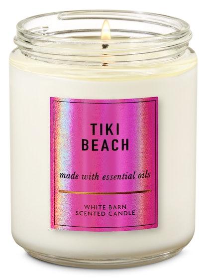 Tiki Beach Single Wick Candle