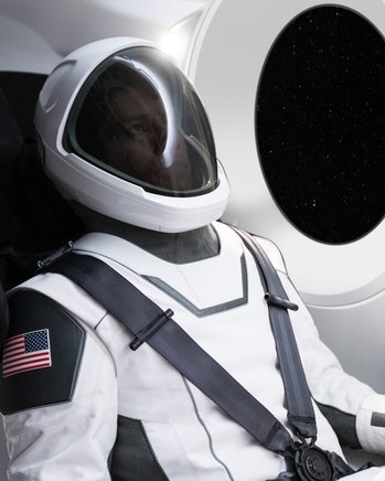 SpaceX's spacesuit.