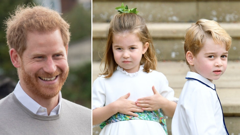 Prince Harry once gifted Prince George and Princess Charlotte with some very uncle-like presents.