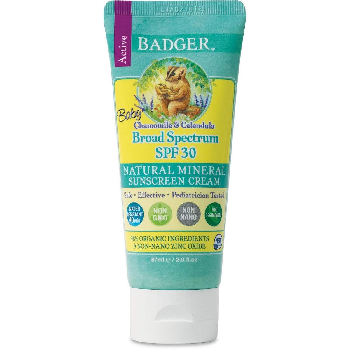 Badger Baby SPF 30 Sunscreen