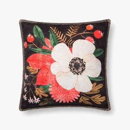 Noche Flor Pillow