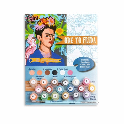 Paint The Town By Number Frida Paint Kit