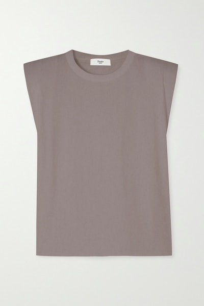 Eva Cotton-Jersey Tank