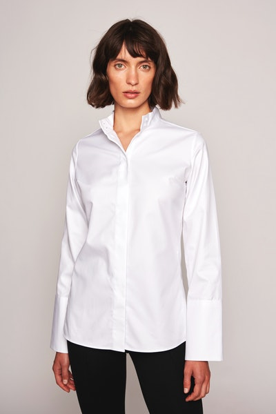 The Anne Shirt White