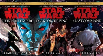 Star Wars legends thrawn books
