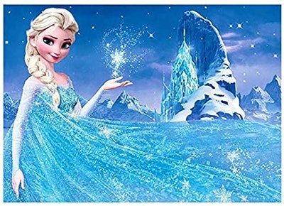 ACANDYL Paint by Number Frozen Elsa