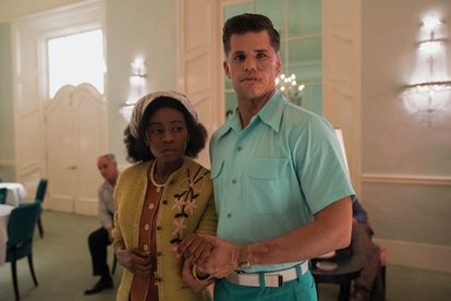 Liz Femi and Charlie Carver in Netflix's 'Ratched.'