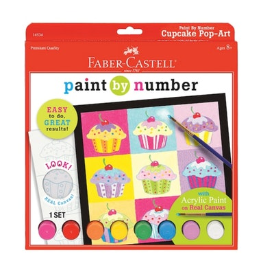 Faber-Castell Paint By Number Kit