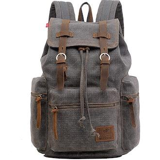 AUGUR High Capacity Canvas Vintage Backpack