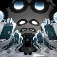 Virgin Galactic: stunning images and video detail the cabin interior