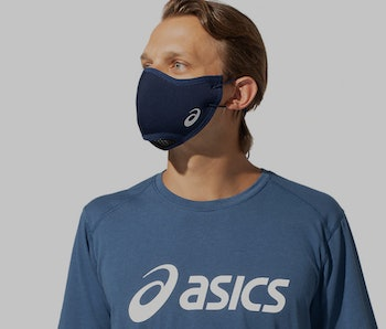 Asics has created a face mask specifically for running