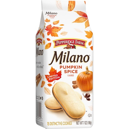 Pepperidge Farm's pumpkin spice milano cookies are coming back for 2020.