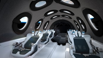 Virgin Galactic's seats.