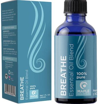Maple Holistics Breathe Essential Oil Blend (1 Ounce)