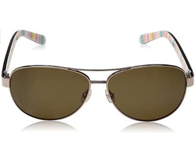 Kate Spade New York Dalia 2 Aviator Sunglasses