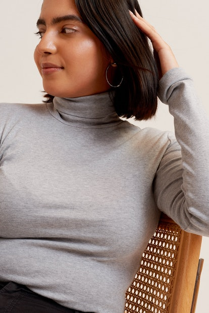 Fitted Turtleneck