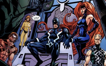 inhumans marvel comics