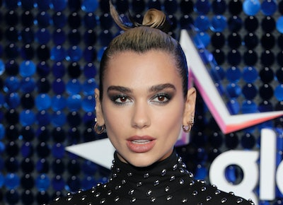 Dua Lipa attends The Global Awards 2020 at Eventim Apollo, Hammersmith on March 05, 2020 in London, England.