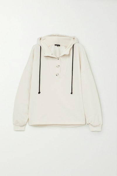 Contra Cotton-Blend Terry Hoodie
