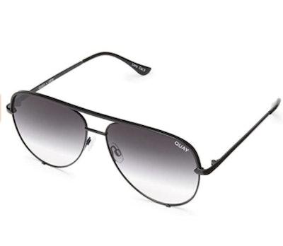 Quay Australia HIGH KEY Unisex Sunglasses Classic Oversized Aviator