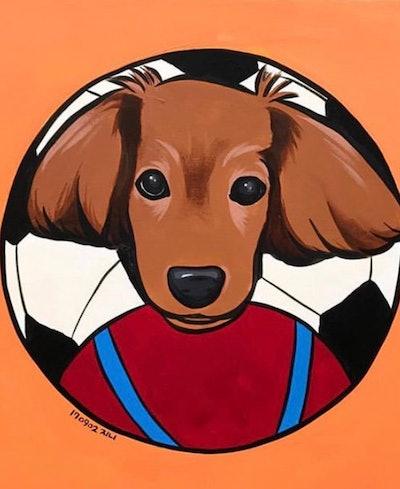 Artnyur Custom Pet Portrait Paint by Number
