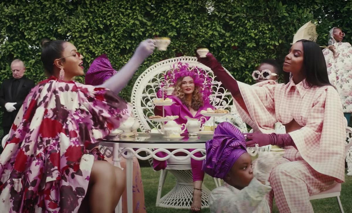 Beyoncé's 'Black Is King' visual album includes celebrity cameos.