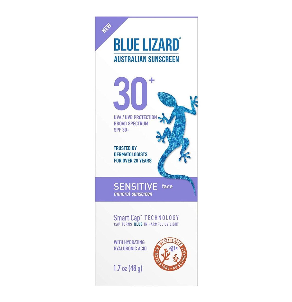 Blue Lizard Sensitive Face Mineral Sunscreen