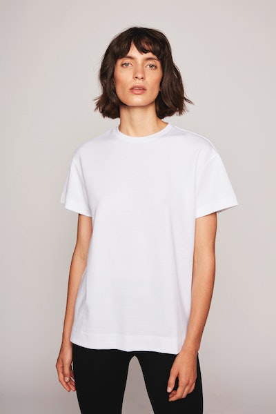 The Alexandra Boyfriend T-Shirt White