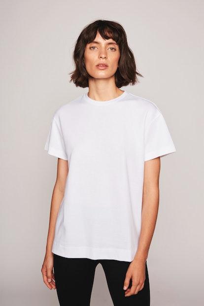 The Alexandra Boyfriend T-Shirt White