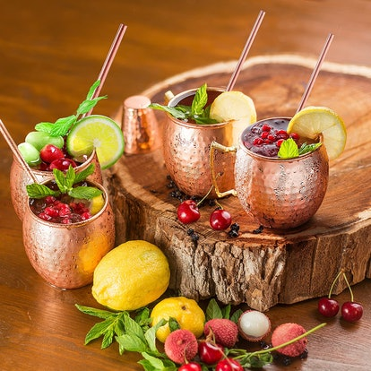 Copper-Bar Moscow Mule Mugs (4-Pack)