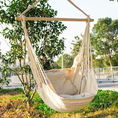 EverKing Hanging Rope Hammock Chair