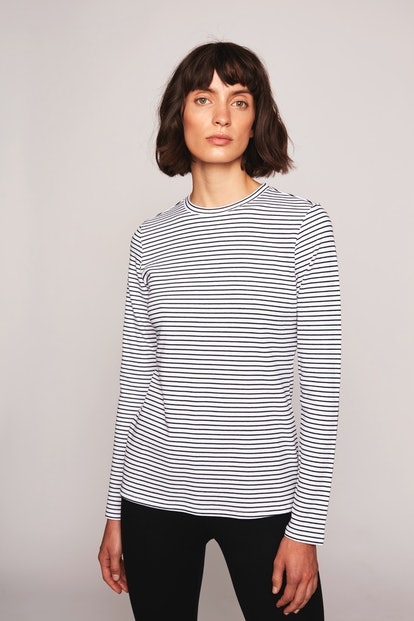 The Andrea Long Sleeve Striped