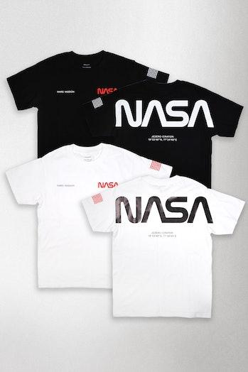 Mars Mission T-shirts.
