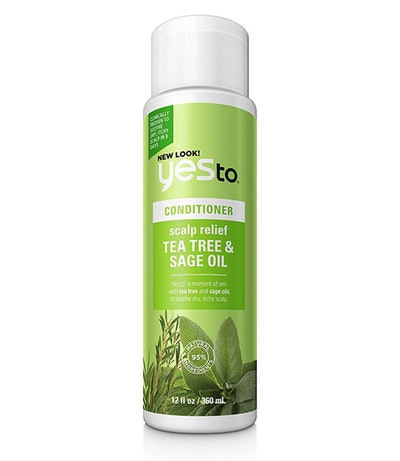 Yes To Naturals Tea Tree & Sage Oil Scalp Relief Conditioner