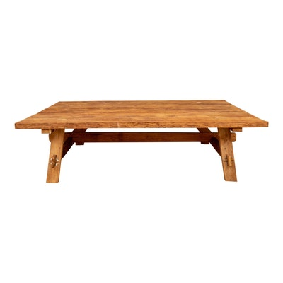 Rustic Lillian August Tucker Coffee Table