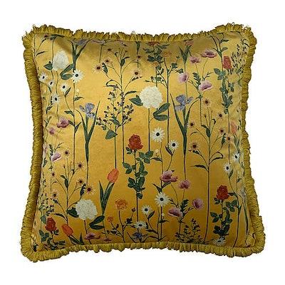 Fleura Ochre Cushion
