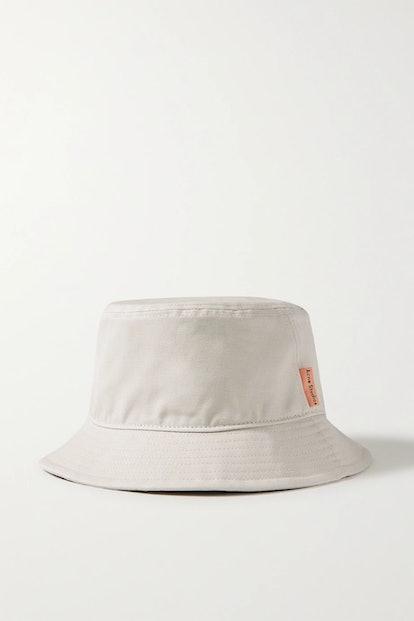 Cotton-Canvas Bucket Hat