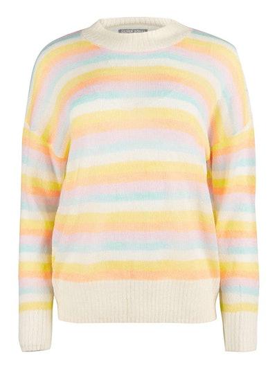 Striped Lofty Knitted Jumper