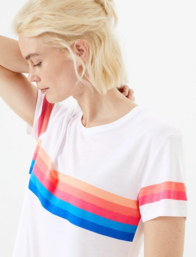 Crew Neck Relaxed Fit T-Shirt