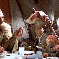Star Wars makes no sense. Except for the prequels.