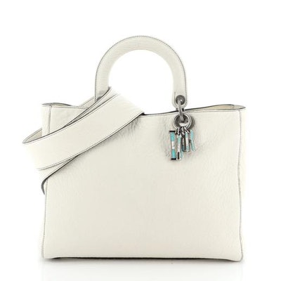 Lady Dior Bag Canyon Grained Lambskin with Mosaic Detail Large