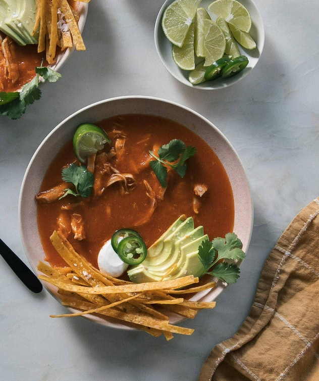 This recipe for Instant Pot Chicken Tortilla Soup is a Chicken Instant Pot meal your whole family can enjoy.