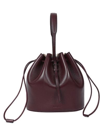 Dark Purple Holster Small Bucket Bag