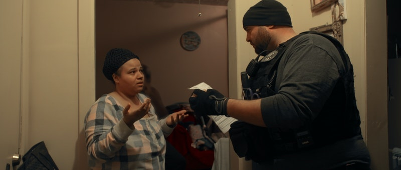 A still from Netflix's 'Immigration Nation,' a damning look inside ICE.