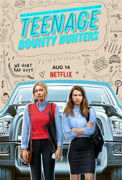 The key art for Netflix's 'Teenage Bounty Hunters' via Netflix