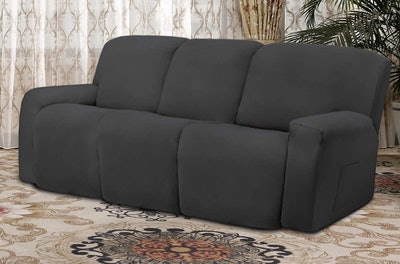 Easy-Going Microfiber Stretch Sectional Slipcover (8-Piece)