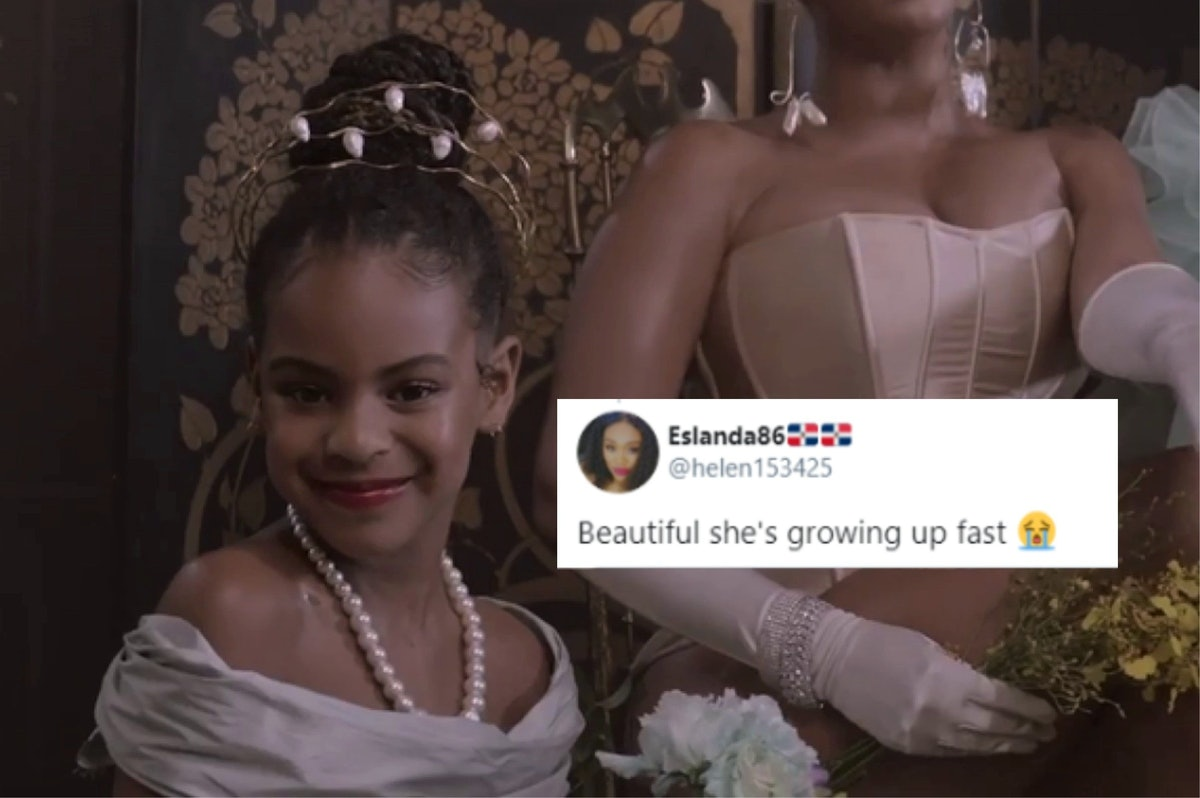 The New 'Black Is King' Trailer Features Blue Ivy For The First Time & She's So Grown